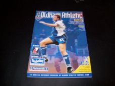 Oldham Athletic v Bristol City, 2000/01